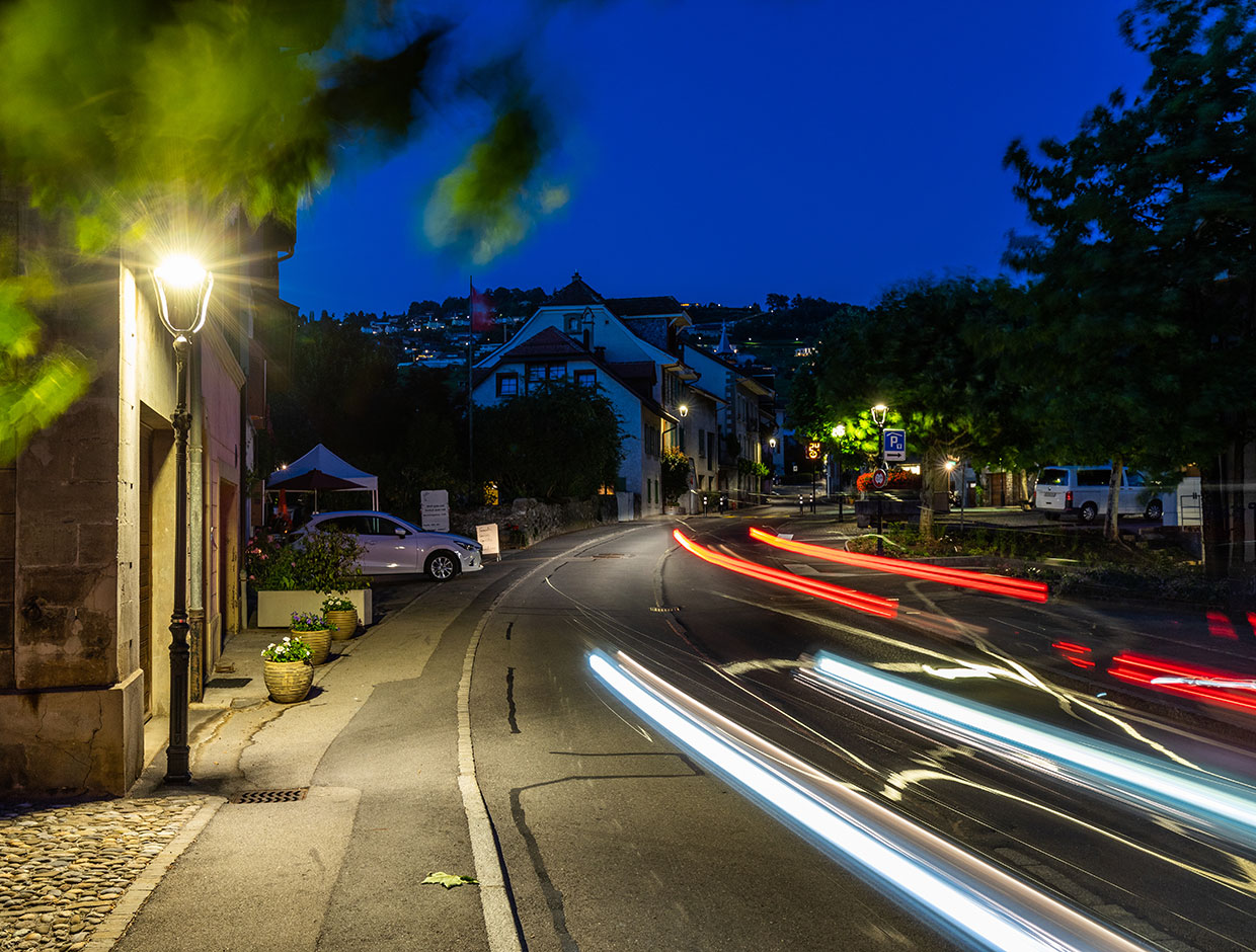 Energy-efficient lighting solutions by Schréder create residential streets where people feel safe at nightensure people feel safe